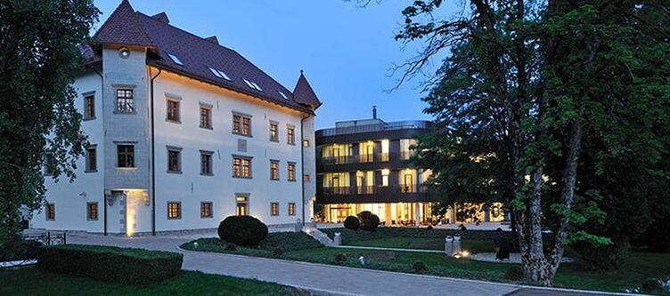 Lambergh Hotel Abend
