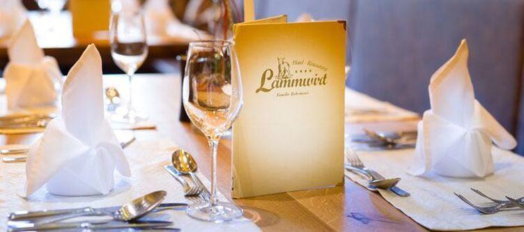 Lammwirt Restaurante Gedeck
