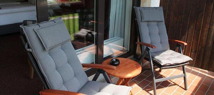 Landhaus Zimmer Komfort Balkon