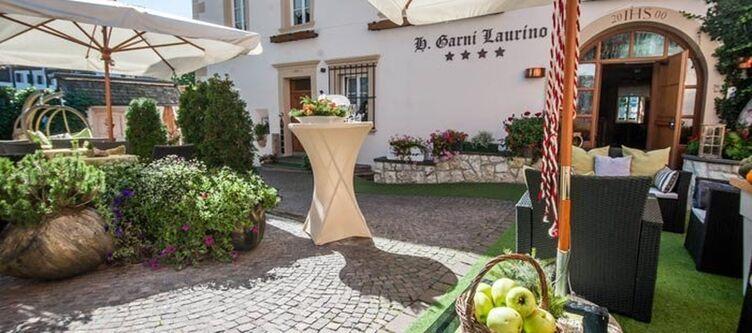 Laurino Hotel Eingang