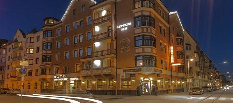 Leipzigerhof Hotel Abend2