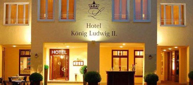 Ludwig Hotel Abend