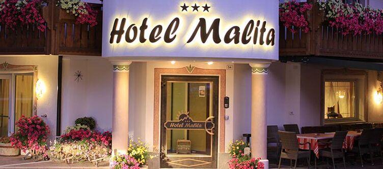 Malita Hotel Eingang