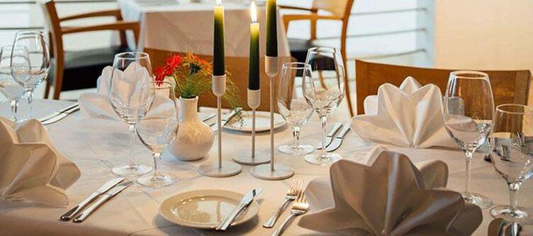 Martinspark Restaurant Gedeck