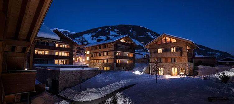 Matrei Hotel Winter Nacht