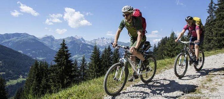 Montafon Mountainbike Bartholomaeberg