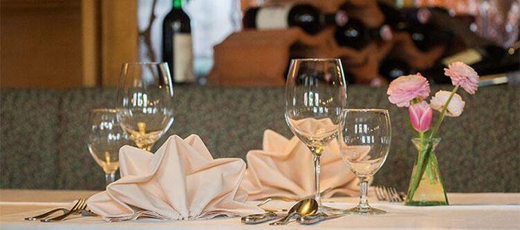 Moorhof Restaurant Tischdeko