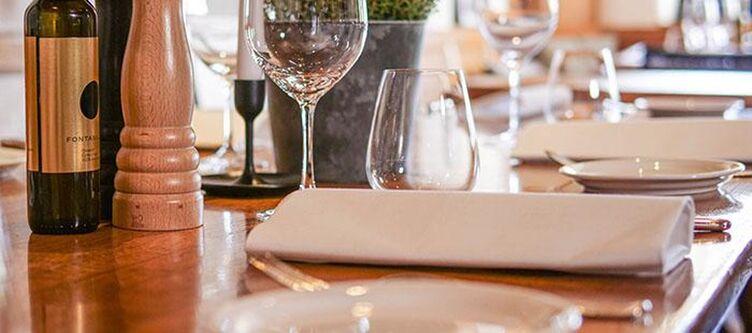 Muehle Restaurant Gedeck2