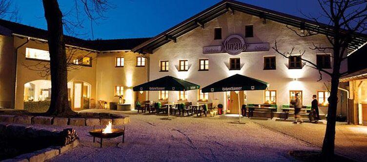 Murauer Hotel Abend