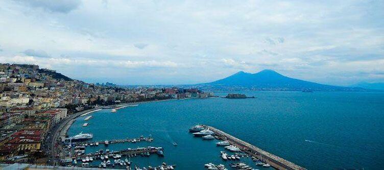 Neapel Stadt Hafen