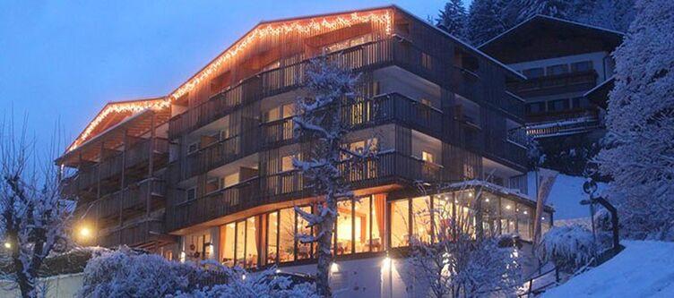 Niggl Hotel Winter Abend