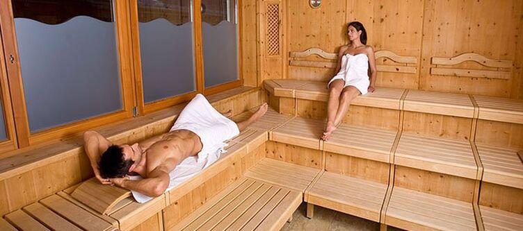 Outside Wellness Sauna