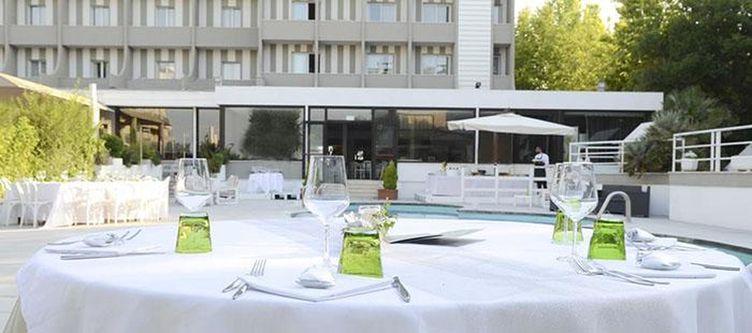 Oxygen Restaurant Terrasse