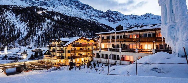 Paradies Hotel Winter