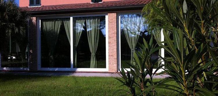 Paradiso Apartement Gartenblick2