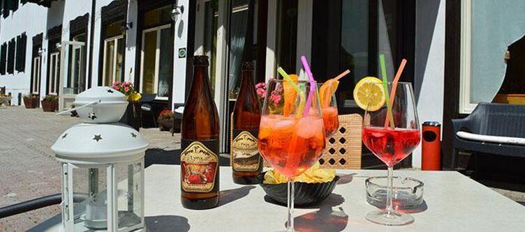 Pejo Terrasse Cocktails