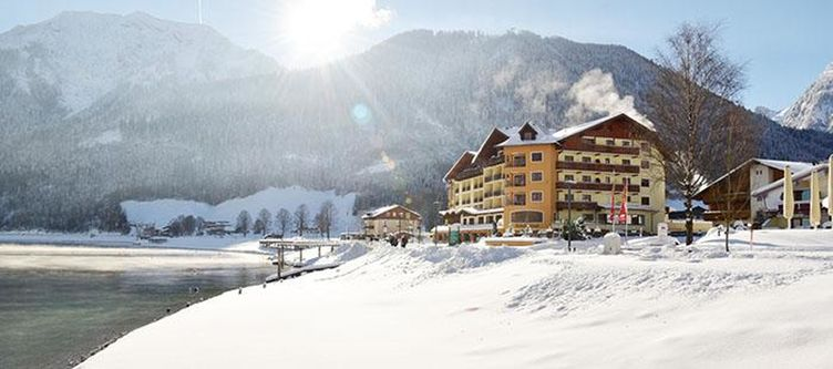 Postamsee Hotel Winter