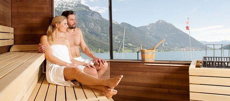 Postamsee Wellness Sauna