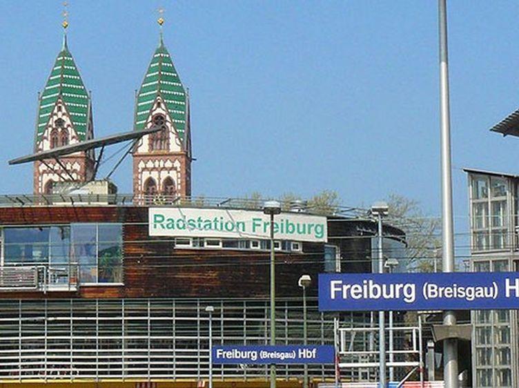Radstation Freiburg 3