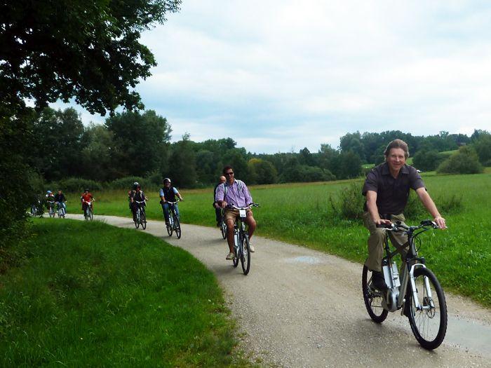 E-Bike Geschichte Chiemsee