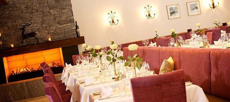 Rauriserhof Restaurant Kamin