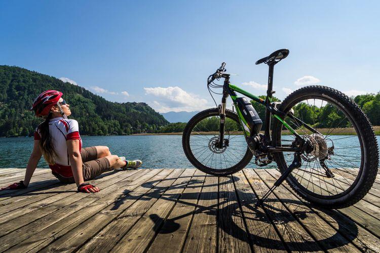 Region Villach Tourismus Lik Fotoakademie Martin Jordan E Bike Ossiacher See