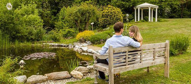 Reiterhof Garten Paar