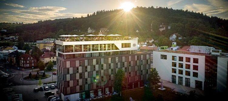 Remspark Hotel Sonnenuntergang
