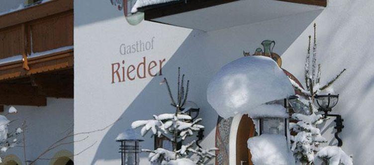 Rieder Hotel Winter