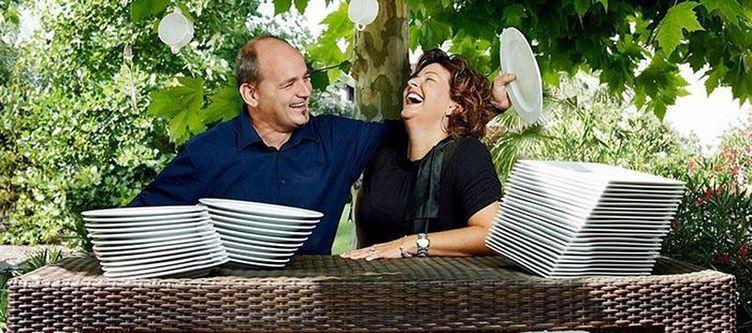 Roessle Garten Paar
