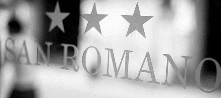 Romano Hotel Schriftzug