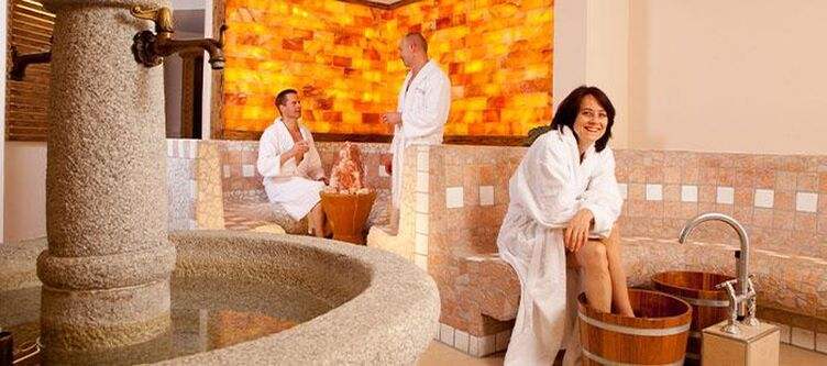 Rosenhof Wellness Sauna Vorraum