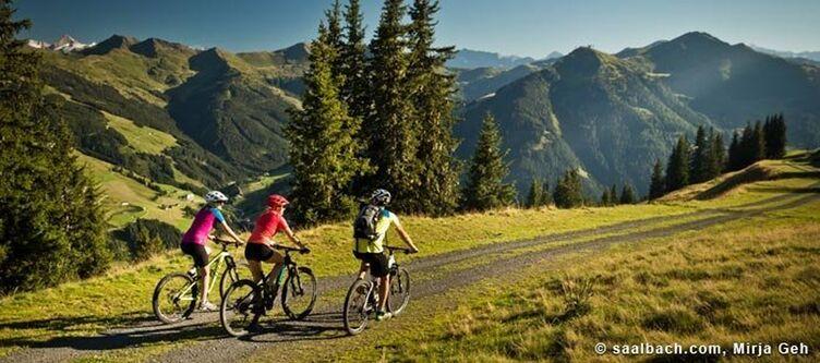 Saalbach Sommer Biketour