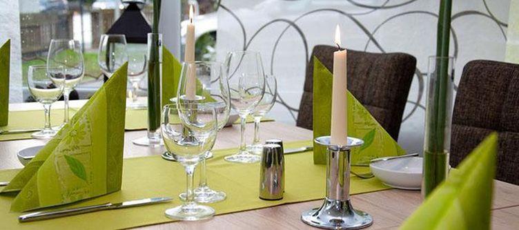 Sachsenross Restaurant Gedeck
