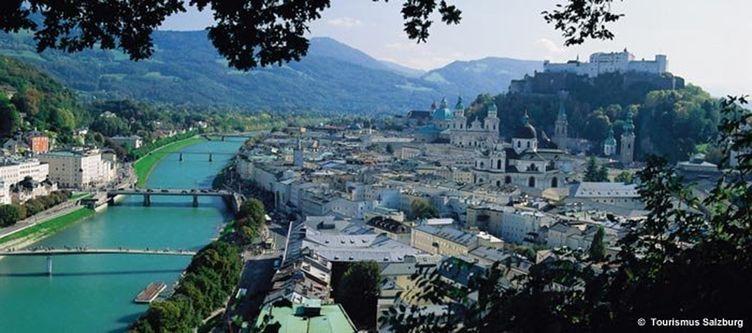 Salzburgtourismus Stadtansicht