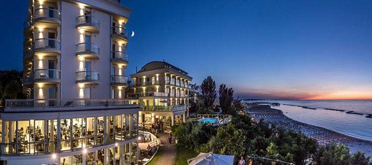 Sanssouci Hotel Abend