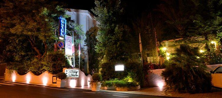 Santamaria Hotel Abend