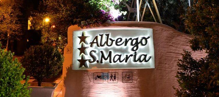 Santamaria Hotel Schriftzug