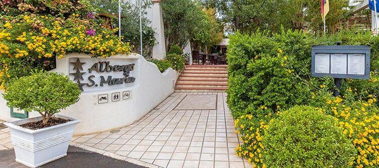 Santamaria Hotel Zugang