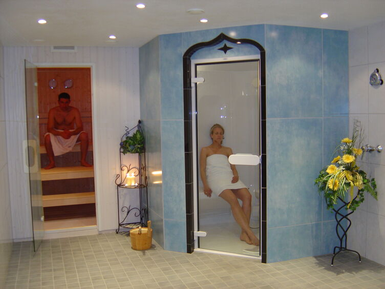 Sauna Dampfbad
