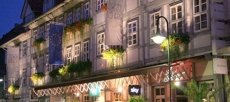 Schere Hotel Abend