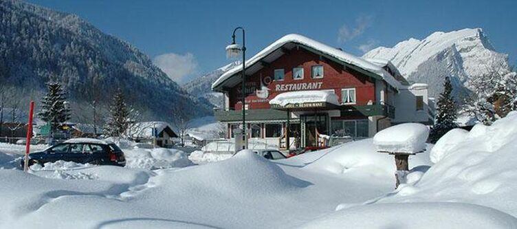 Schiff Hotel Winter