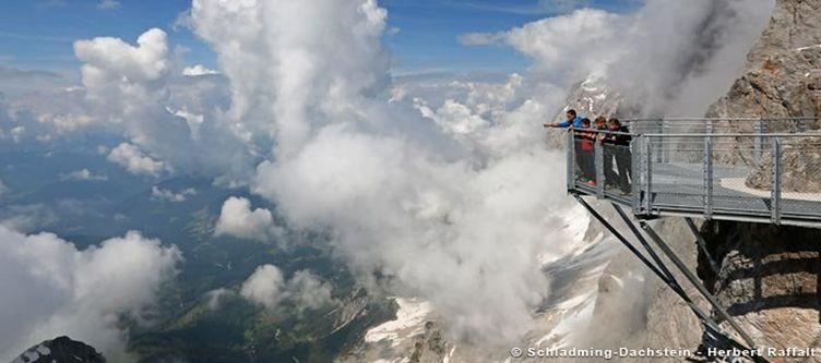 Schladming Aussichtsplattform Dachstein