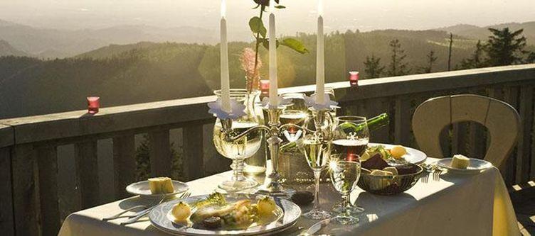 Schliffkopf Terrasse Dinner