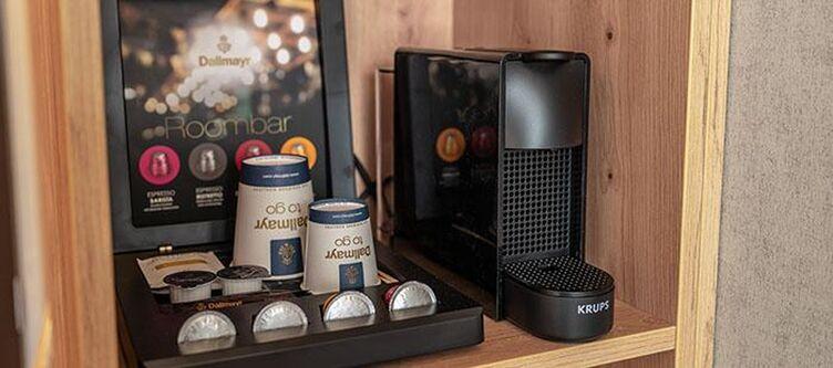 Schlossberg Zimmer Kaffee