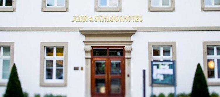 Schlosshotel Hotel Eingang