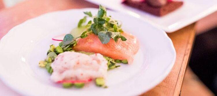 Schlosshotel Kulinarik Fisch