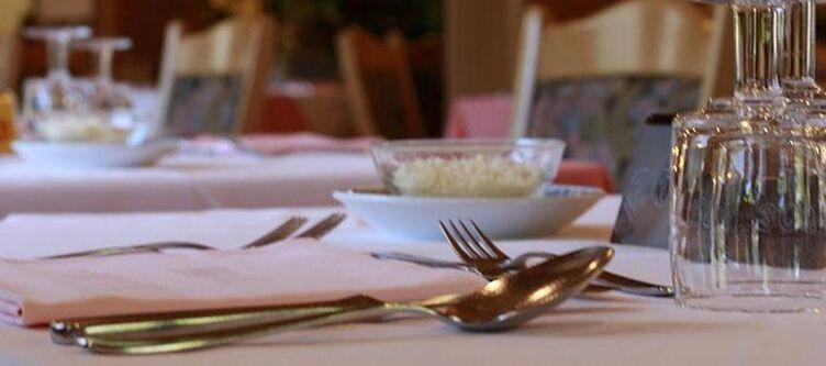 Scoiattolo Restaurant Gedeck
