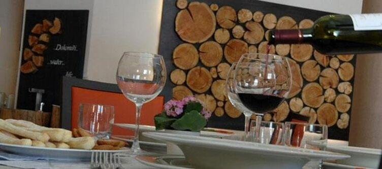 Scoiattolo Restaurant Wein