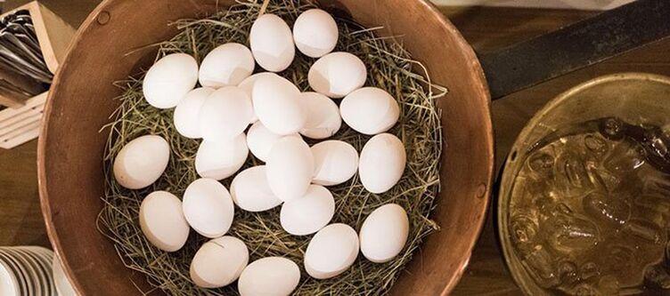 Senningerbraeu Fruehstuecksbuffet Eier